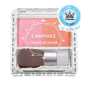 キャンメイク チーク&チーク 01 キャンディーフラワー