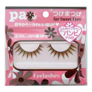 pa つけまつげ for Sweet Eyes バンビ ブラウン