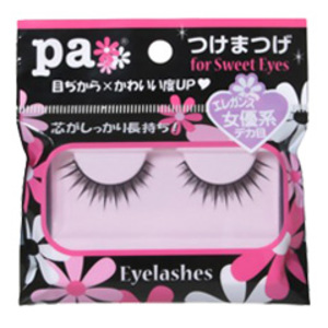 pa つけまつげ for Sweet Eyes 女優系