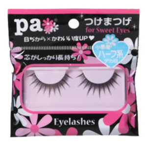 pa つけまつげ for Sweet Eyes ハーフ系