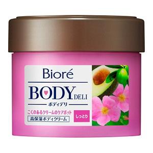 ビオレ ボディデリ しっとりうるおいケアポット ローズ&ハーブの香り 220g