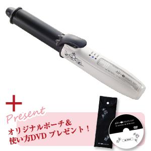 エアー×クレイツイオン カールアイロン コードレス 26mm CIC-R01CL