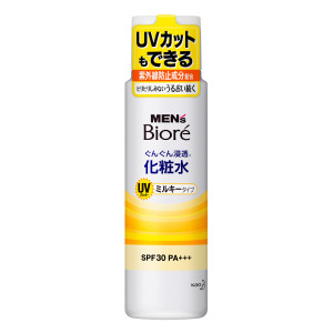 メンズビオレ 浸透化粧水 UVミルキータイプ 180ml