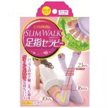 SLIM WALK Toe Therapy Home Relax Socks (Long)