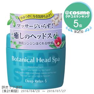 Botanical Head Spa Deep Relax Treatment