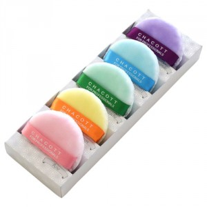 Macaron Puff Kit  including 5 shades