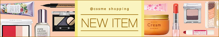 @cosme shopping NEW ITEM