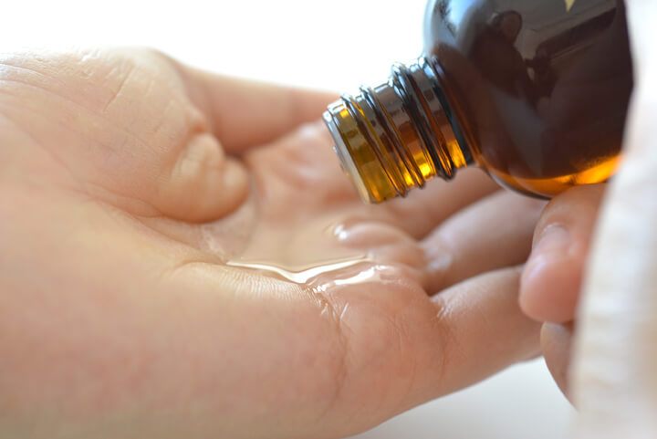 ゆず油無添加ヘアオイル