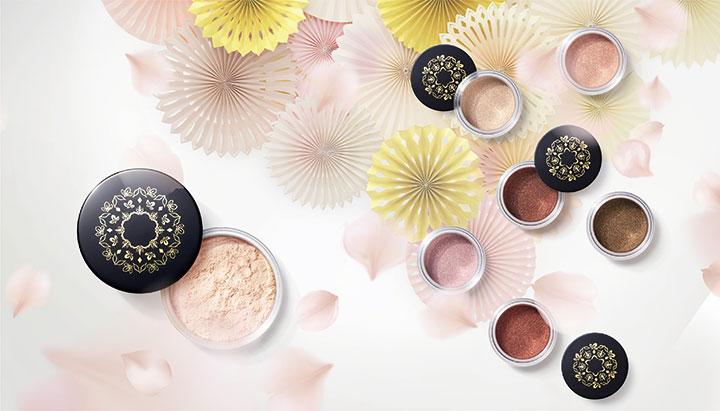 加賀の光彩と縁付金箔のカラーパウダー