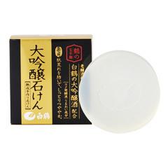 鶴の玉手箱 大吟醸石けん / 100g
