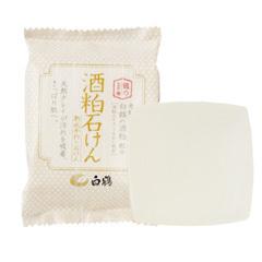 鶴の玉手箱 酒粕石けん / 100g