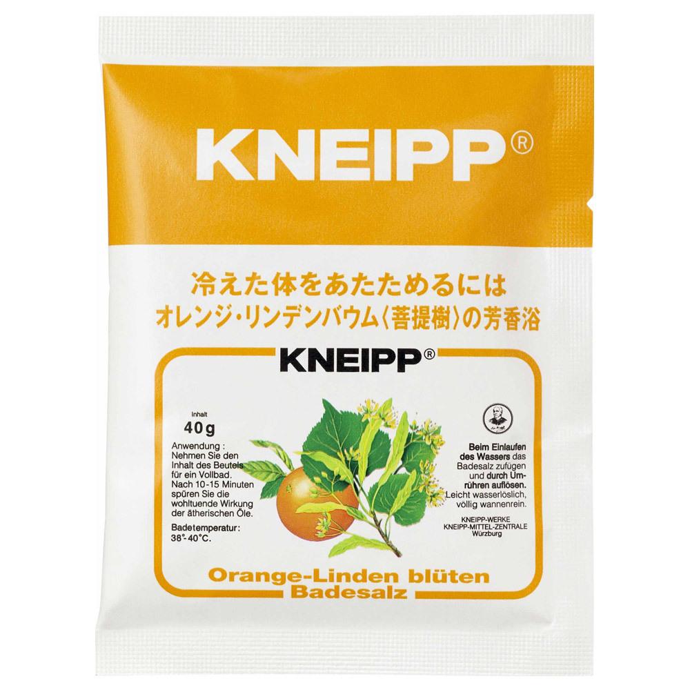 バスソルト オレンジ・リンデンバウム(菩提樹)の香り / 40g×1包