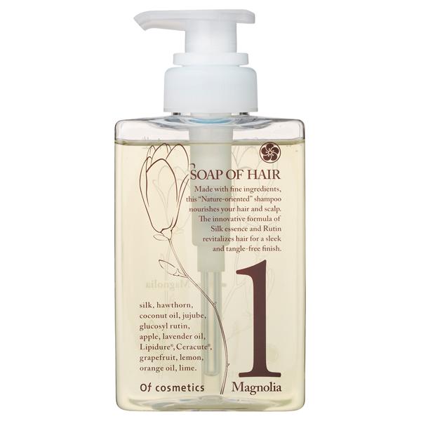 ソープオブヘア 1-Ma / 本体(スタンダードサイズ) / 265ml / マグノリア(木蓮)の香り