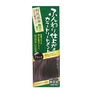 ふんわり仕上がるカラートリートメント / ブラック / 200g