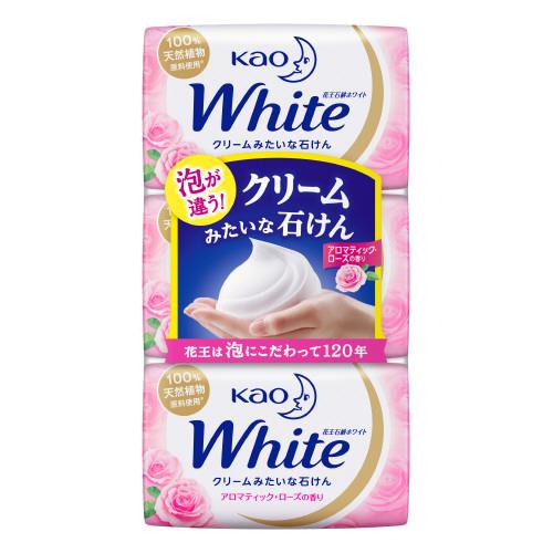 花王ホワイト アロマティック・ローズの香り / 普通サイズ / 85g×3個入