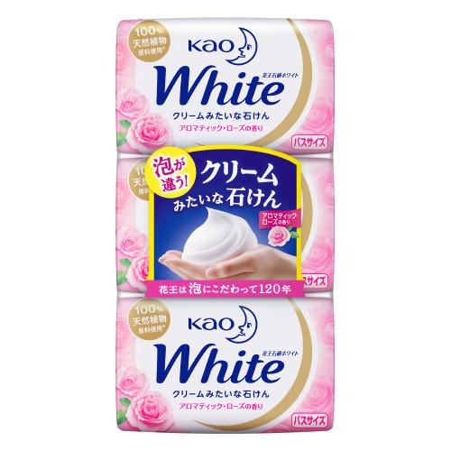花王ホワイト アロマティック・ローズの香り / バスサイズ / 130g×3個入