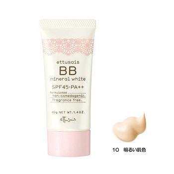 BBミネラルホワイト / SPF45 / PA++ / 10 / 40g