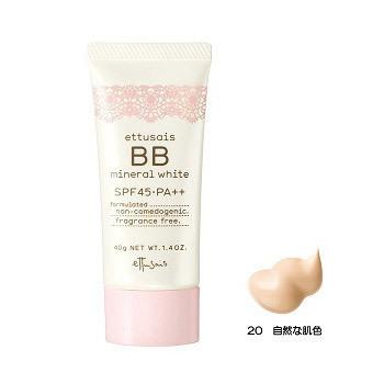 BBミネラルホワイト / SPF45 / PA++ / 20 / 40g