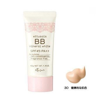 BBミネラルホワイト / SPF45 / PA++ / 30 / 40g