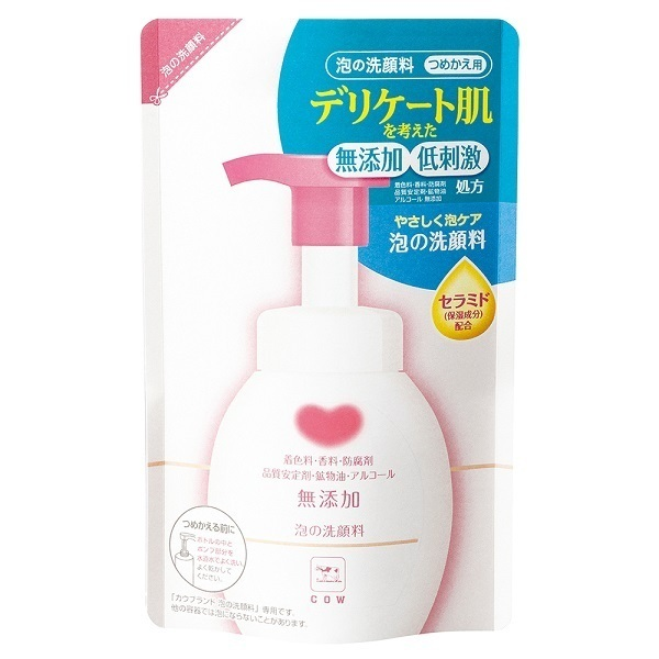 カウブランド 無添加泡の洗顔料 / 詰替用 / 180ml