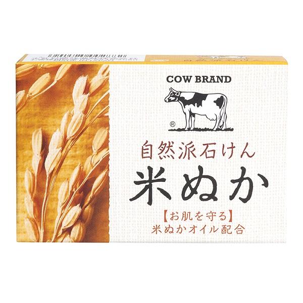 自然派石けん 米ぬか / 100g