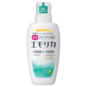 花王 エモリカ 薬用スキンケア入浴液 / 本体 / 450ml / ハーブの香り