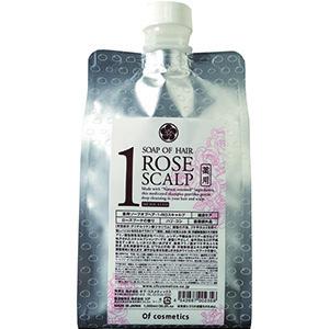 薬用ソープオブヘア・1-ROスキャルプ / エコサイズ / 1000ml / ローズブーケの香り