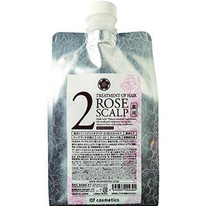 薬用トリートメントオブヘア・2-ROスキャルプ / エコサイズ / 1000g / ローズブーケの香り