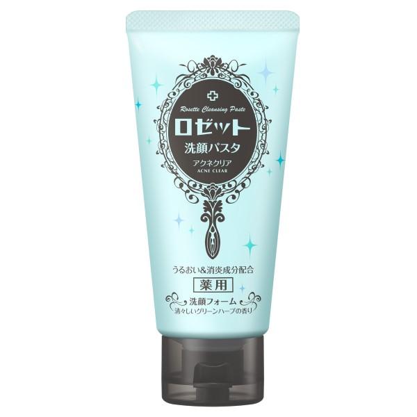 ロゼット洗顔パスタ アクネクリア / 120g