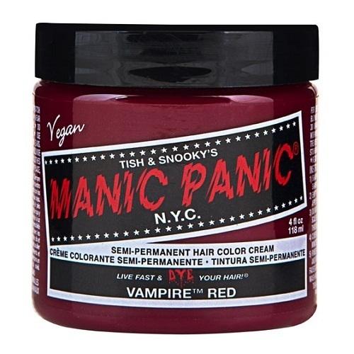 マニックパニックカラークリーム / ヴァンパイアレッド / 118ml