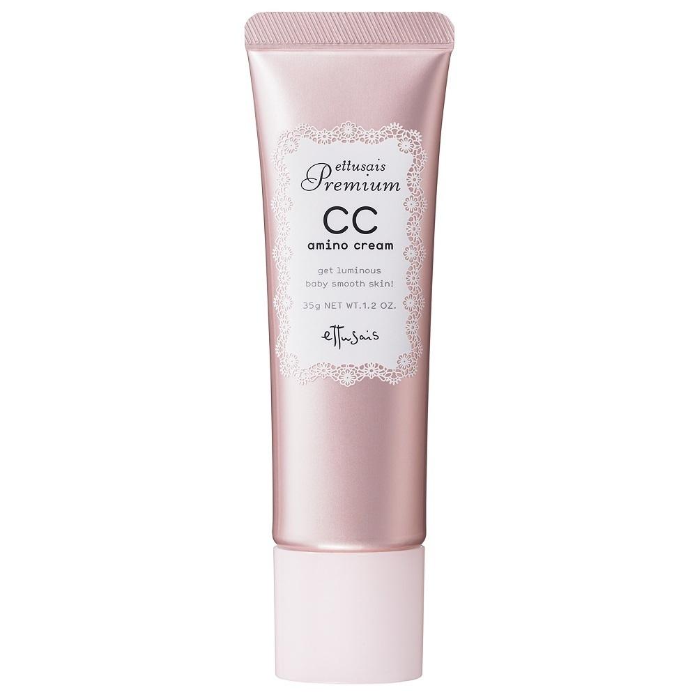 プレミアム CCアミノクリーム / PK(ベビーピンク) くすみを飛ばして血色感のある肌へ / 35g