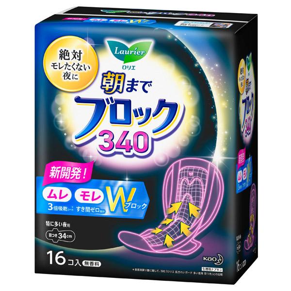 ロリエ超吸収ガード340 / 羽つき / 16コ入(34cm)