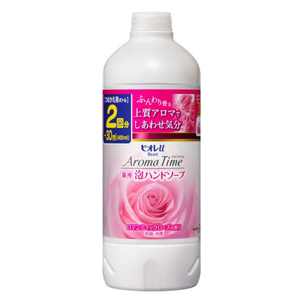 アロマタイム 泡ハンドソープ ロマンティックローズの香り / つめかえ用 / 400ml