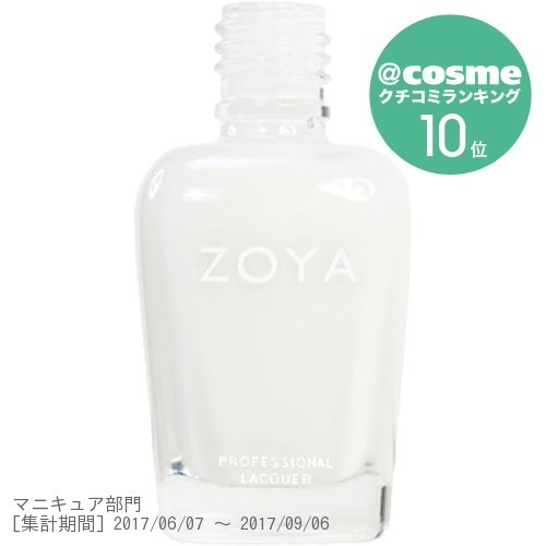 ZOYA / ZP114 SNOW WHITE / 15ml
