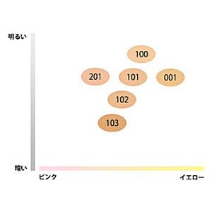 リキッド ファウンデイション / SPF25 / PA++ / 101 標準色(日本人の肌色に一番なじむ色) / 25ml 1