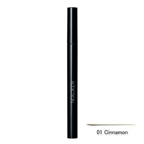 リキッド アイブロウ / 01 Cinnamon シナモン / 0.4ml