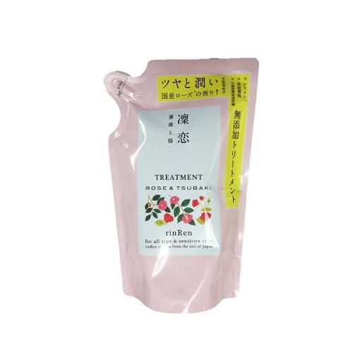 凛恋 レメディアル トリートメント ローズ&ツバキ / トリートメント/リフィル / 400ml