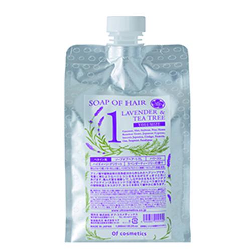 ソープオブヘア・1-TL / エコサイズ / 1000ml / ラベンダーティーツリーの香り