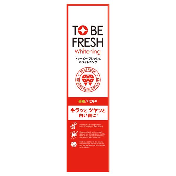 トゥービー・ホワイト 薬用デンタルペースト / 100g