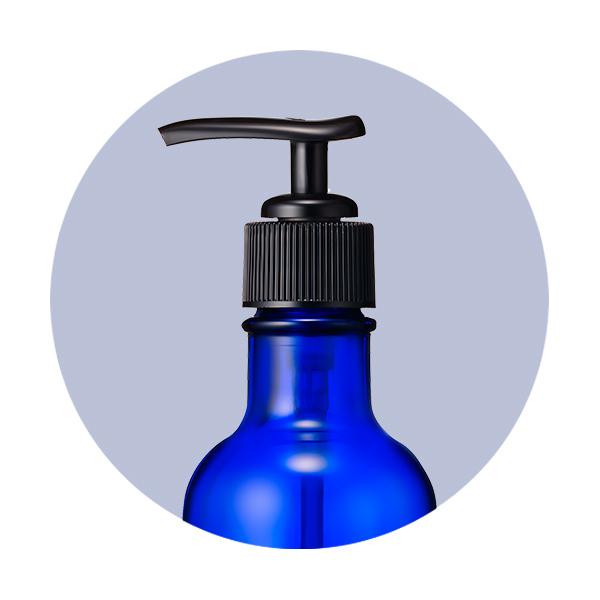 ポンプディスペンサー(拭きとり化粧水200ml用) / 200ml