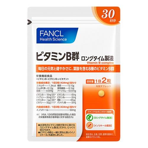 ビタミンB群 ロングタイム製法 / 60粒(30日分)