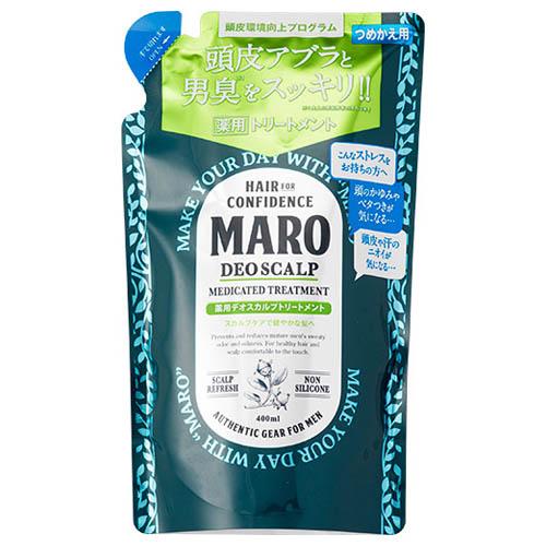 MARO 薬用デオスカルプトリートメント 詰替え / 400ml