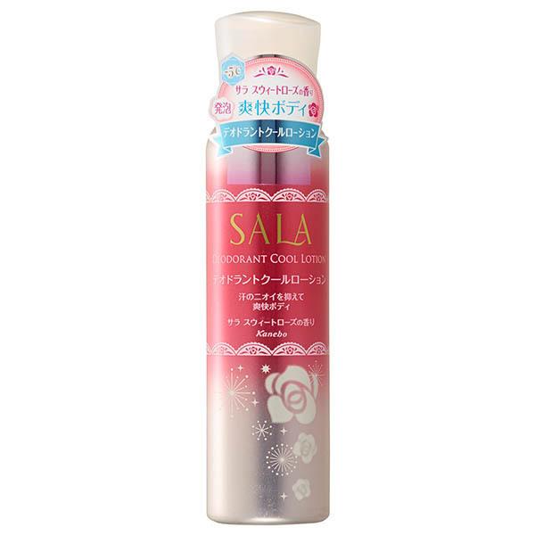 【アウトレット】デオドラントクールローション / 90g / 華やかでやさしい サラ スウィートローズの香り