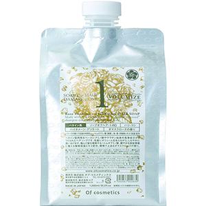 ソープオブヘア・1-RO / エコサイズ / 1000ml / ダマスクローズの香り