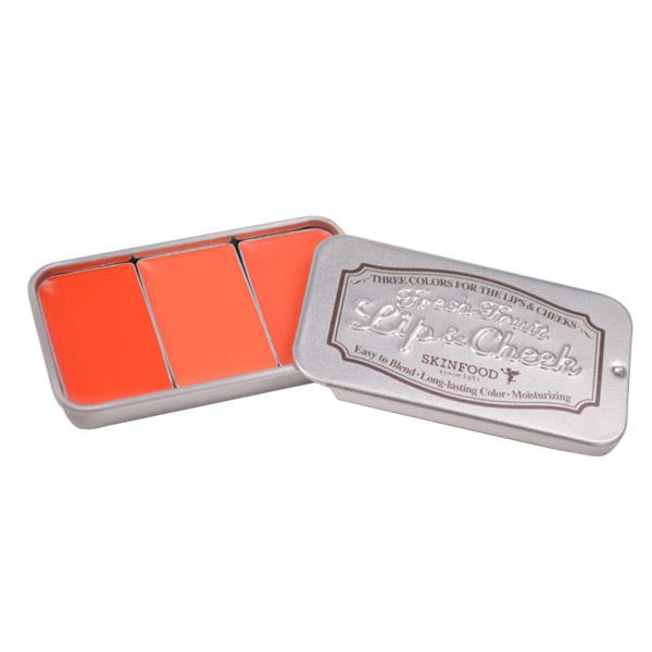フレッシュフルーツ リップ&チーク トリオ #1 / #1 ビビッドオレンジ / 2.5g×3