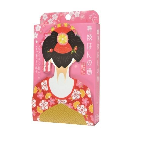 舞子はんの湯 桜・抹茶セット / 25g×2