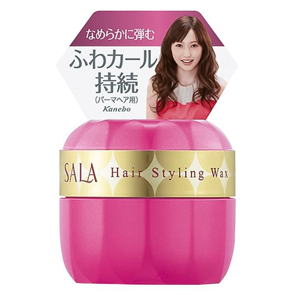 ふんわりパーマヘアワックスEX(ミニ) / 35g / 清楚でやさしいサラの香り