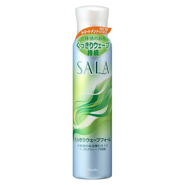 【20%ポイントバック】くっきりウェーブフォームV / 150g / 清楚でやさしいサラの香り
