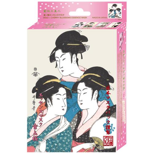 ウタマロエッセンスマスク 金+桜 / 25g×10枚