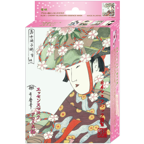 ウタマロエッセンスマスク アロエ+桜 / 25g×10枚
